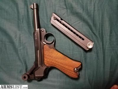 For Sale/Trade: P08 Luger German 9mm