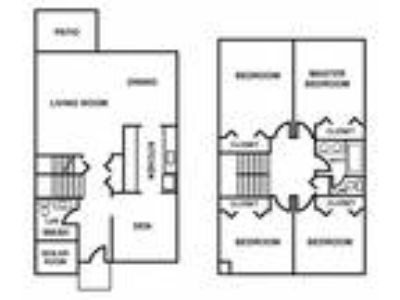 Meadowbrook Apartments - Four BR Townhouse