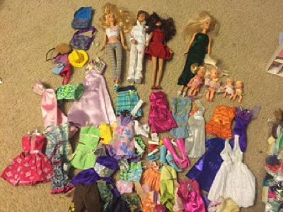 Barbie Furniture, dolls, clothes and accessories