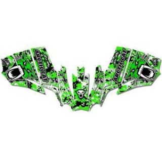 Purchase Sled Wrap Snowmobile Decals Graphics fits Arctic Cat Sno Pro 500 600 08-13 motorcycle in Ovid, Michigan, United States, for US $220.00