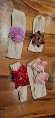 Infant headbands, $2 for all