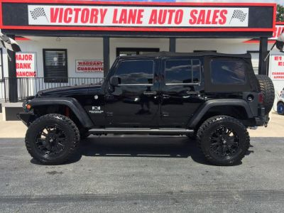 2008 Jeep Wrangler Unlimited X (BLK)