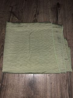 Large green table cloth