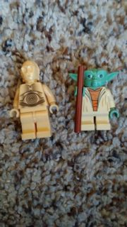 Limited eddition lego Star Wars characters