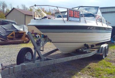 For Sale: 1982 Penn Yan Cabin Cruiser w/1994 EZ load trailer...