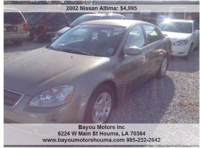 9668 96682002 Nissan Altima Unspecified 4-Cylinder (houma)