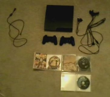 Playstation 3 320GB with games and accesories