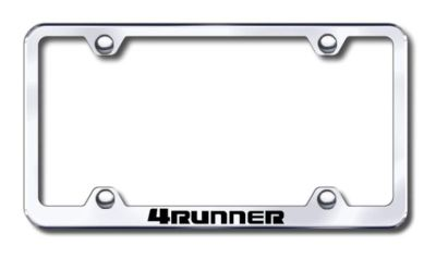 Purchase Toyota 4Runner Wide Body Engraved Chrome License Plate Frame -Metal Made in US motorcycle in San Tan Valley, Arizona, US, for US $30.98