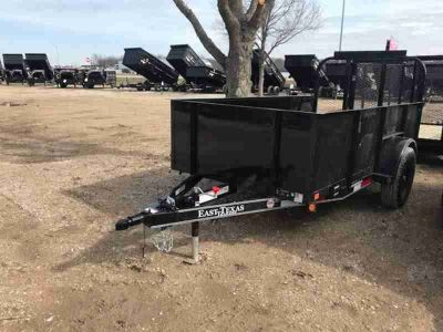 2018 | East Texas Trailers | 6.5x10x2' | Landscape | Single Axle | Black | Solid