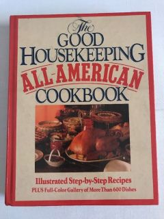 Vintage 1987 The Good Housekeeping All American Cookbook 1st Edition Hard Cover