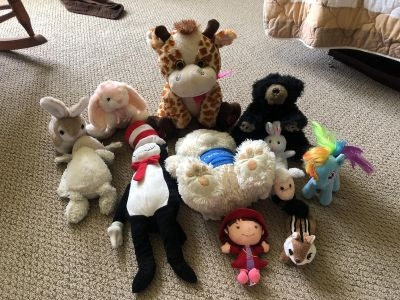 Stuffed Animals (pride is for all)