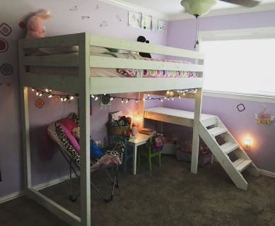 Loft Style Bunk Bed w/ Stairs