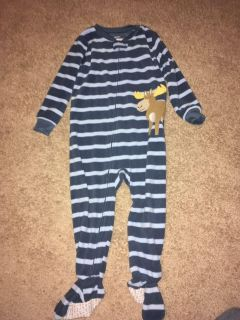 Carter s 3T footed pjs used twice