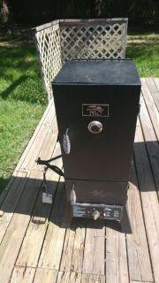 New gas smoker