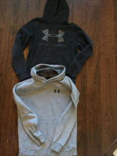 Men s Small Under Armour cotton hoodies
