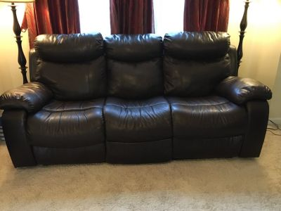 Recliner Sofa and Recliner Chair - Aurora/Naperville