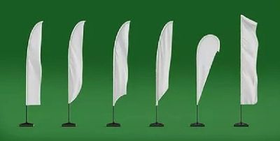 X Banners, Teardrop Banners, Feather Flags Printing