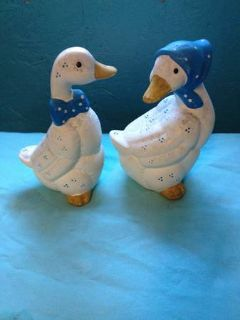 Two porcelan ducks