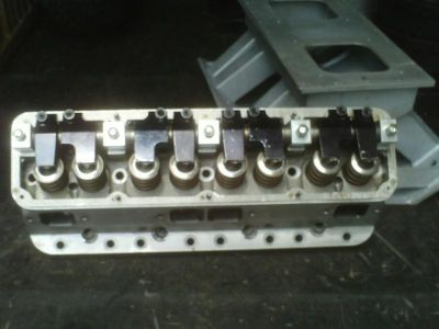 Sell Fred Brewer Mopar heads Alum. 440 and Tunnel ram to match motorcycle in Medway, Ohio, US, for US $3,799.00