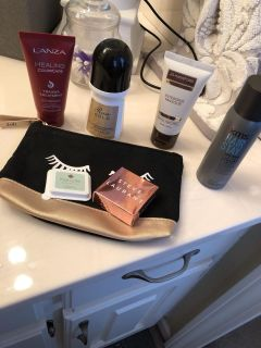 All NEW ITEMS! Plus make up bag !
