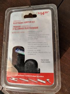 Electronic ignition kit for BBQ