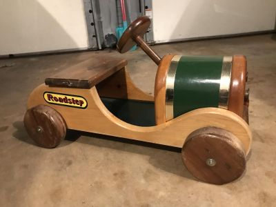 Wooden Roadster Ride On Toy