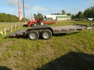 2018 83 x 18 Stagecoach Dovetail Trailer