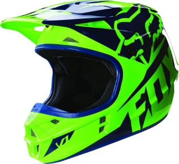 Purchase NEW 2016 FOX RACING V1 RACE MX DIRT BIKE MOTOCROSS HELMET FLO GREEN ALL SIZES motorcycle in Chino, California, United States, for US $169.95