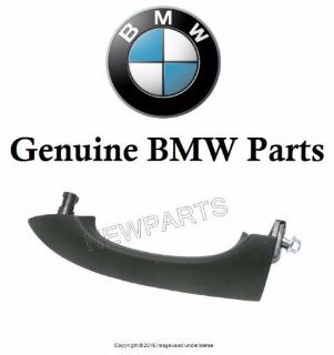 Black BMW X5 2001 2002 2003 2004 2005 2006 Genuine Bmw Outside Door Handle