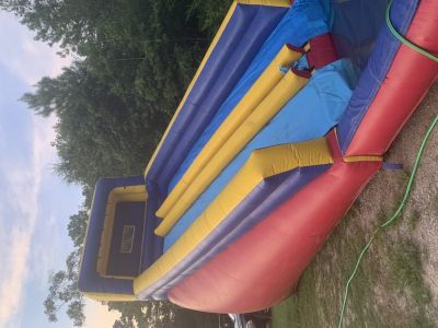 20 foot tall inflatable water slide