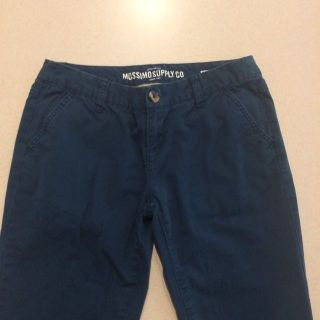 """Blue Cotton Pants (sz 5) by Mossimo Supply Co (inseam 31"""")"""