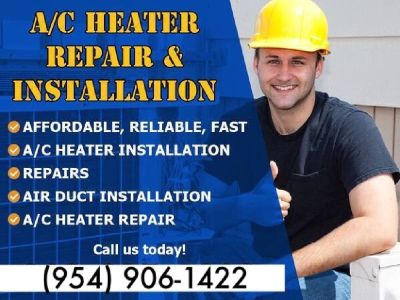 ANY SIZE 2 TO 5 Ton AC Repair/Installation/REPLACE/Air Conditioning FLAT