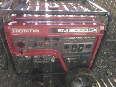 Honda em5000sx