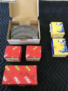New brakes , master , wheel cylinders