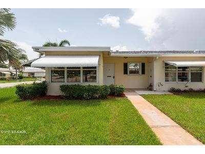 2 Bed 2 Bath Foreclosure Property in Boynton Beach, FL 33435 - Loren Rd Apt A