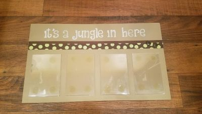 it's a jungle in here sign