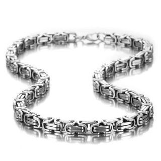 """***BRAND NEW***AWESOME 8mm 21"""" Long Mechanic Style Men's Necklace"""