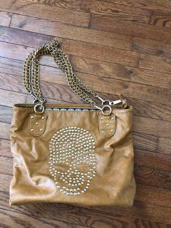 Orange caramel purse