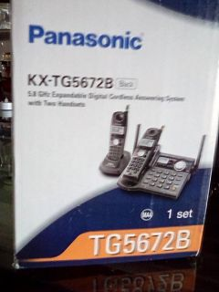 Panasonic Cordless Phones + Answering Machine