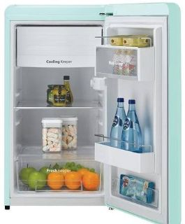 Daewoo 4.4 Cu Ft Retro Refrigerator - Delivery Available