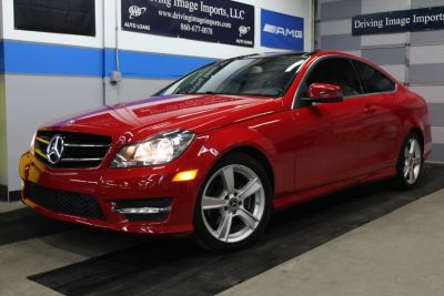 2015 Mercedes-Benz C-Class 2dr Cpe C 250 RWD (Red)