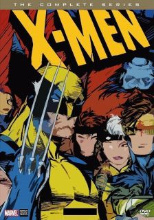 $25, X-Men The Animated Series Cartoons DVD Set 6 Disc Complete Series