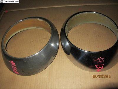 porsche headlight rings #13 A&B