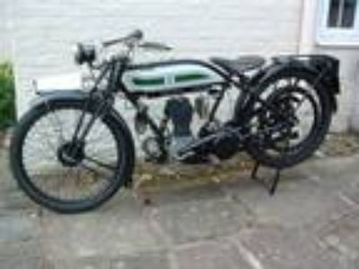 1925 Triumph Model P Vintage Motorcycle