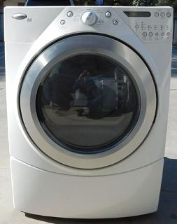 FRONT LOAD WHIRLPOOL DUET GAS DRYER WITH WARRANTY (FINANCING)