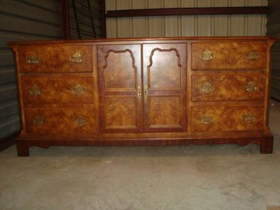 Midcentury Solid Wood Dresser by Americans of Martinsville