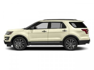 2017 Ford Explorer Platinum (White Gold Metallic)