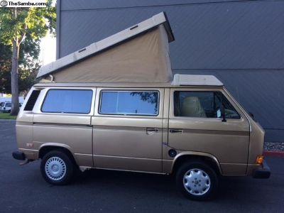 1985 Volkswagen Vanagon Westfalia Full Camper