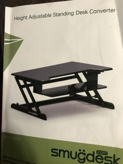Sit stand station for your workstation