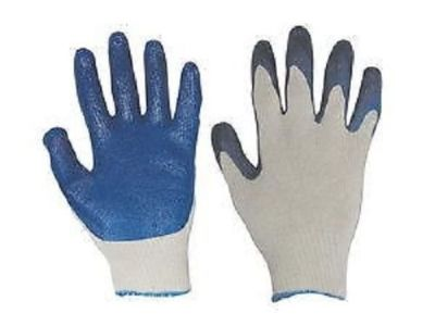 Ladies Cotton/Poly Knit Latex Palm Glove sold by the dozen